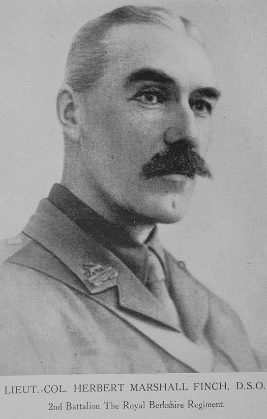 UK Photo Archive: British Roll Of Honour Vol 1 &emdash; Finch H M Lt Col DSO 2nd Royal Berkshire Regiment