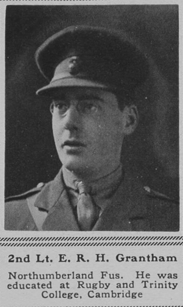 UK Photo Archive: G &emdash; Grantham E R H 2nd Lt 1st Northumberland Fusiliers The Sphere 19th May 1917