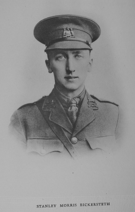 UK Photo Archive: Rugby Roll Of Honour Vol 3 1914-1918 &emdash; Bickersteth S M Lt 15th West Yorkshire Regiment