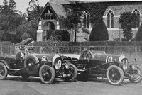 Le Mans Team 1925 J F Duff And F C Clement No 9 H K Moir And Dr Benjafield No 10