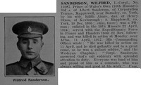 Sanderson W LCpl 11087 10th Hussars Obit De Ruvignys Roll Of Honour Vol 3