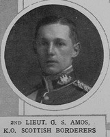Amos G S 2nd Lt Kings Own Scottish Borderers The Illustrated London News 24th Oct 1914