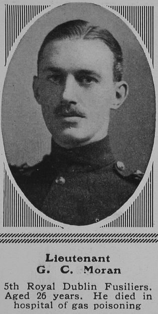 UK Photo Archive: M &emdash; Moran G C Lt 5th Royal Dublin Fusiliers The Sphere 24th Jul 1915