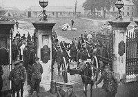 Mobilisation Of The 4th Queens Royal West Surrey Regiment At Croydon Barracks 5th Aug 1914