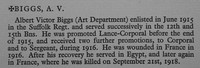 Biggs A V Cpl 320772 15th Suffolk Regiment Obit War Record Of Cambridge University Press