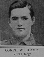 Clamp W Cpl VC 6th Yorkshire Regiment The Great War Vol 12