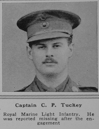 UK Photo Archive: T &emdash; Tuckey C P Captain RMLI The Sphere 11th May 1918