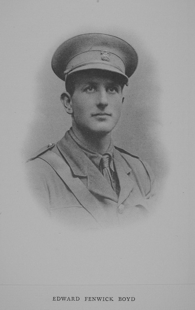 UK Photo Archive: Rugby Roll Of Honour Vol 1 1914-1918 &emdash; Boyd E F 2nd Lt 1st Northumberland Fusiliers