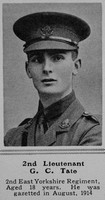 Tate G C 2nd Lt 2nd East Yorkshire Regiment The Sphere 15th May 1915