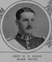 Gilroy K R Lt 2nd Black Watch The Illustrated London News 17th April 1915