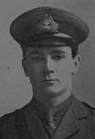 UK Photo Archive: Dulwich College War Record 1914-1919 &emdash; Flood C E C Sub Lt Anson Bn. R.N. Div. Royal Naval Volunteer Reserve Dulwich College Roll Of Honour