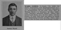 Ward J LCpl 8066 1st Oxford Bucks LI Obit De Ruvignys Roll Of Honour Vol 1