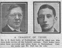 Daft C F Mr C F Daft Jnr RMS Leinster The Graphic 26th Oct 1918