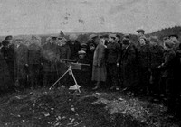 The 1st Newfoundlnd Regiment At Machine Gun Practice St Johns 1914