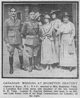 Egerton-Johnson R Captain Royal Air Force The Graphic 23rd July 1918