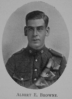 Browne A E Lt 16th Canadian Infantry (Manitoba Regiment) Royal High School Of Edinburgh Roll Of Honour 1914-1918