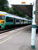 A Train At Carshalton Beeches Station 2010