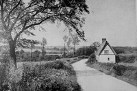 Between Ashen And Clare On The Essex Suffolk Border 1940s