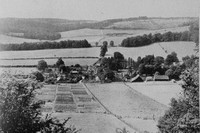 Turville Village In The Chilterns 1940s