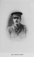 Brown E F Captain Wiltshire Regiment