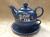 Tetley Tea For One Set Teapot Cup And Saucer