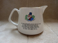 Vintage Lord Nelson Pottery Jug Widecombe Fair