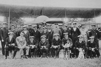 Officers Of The Naval Wing Of The Royal Flying Corps