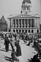 The Council Offices Overlooking The Market Nottingham c.1950