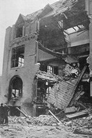The Engineering Department Of Liverpool University After The Blitz