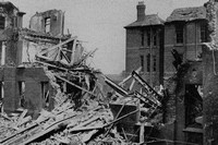 After Bombing Raids In Liverpool WW2 Mill Road Hospital