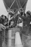 British Kite Balloon Observers On The Western Front