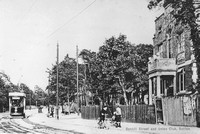 Benhill Street And Union Club Sutton Surrey c.1910