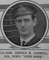 Gaskell G B Lt Com HMS Good Hope Royal Navy The Illustrated London News 12th Dec 1914