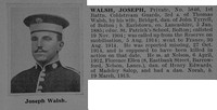 Walsh J Pte 5846 1st Coldstream Guards Obit De Ruvignys Roll Of Honour Vol 1