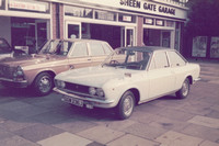 Fiat GGW 236J At Sheen Gate Garage 1970s