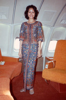 A Singapore Airlines Stewardess 1970s