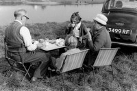 Picnicking On The Banks Of The River Trent In Laneham 1961