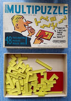 Spear's Multipuzzle Game  1960s