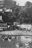 Clovelly From The Pier 1920s