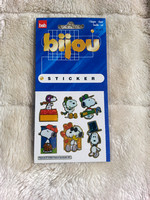 Sheet Of Six Snoopy Stickers