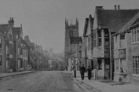 Stamford With St Martins And The Bull And Swan Inn 1930s