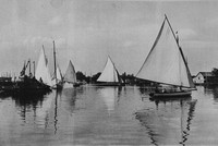 Horning On The Norfolk Broads 1930s Photo No 2
