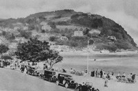 Minehead North Hill From The Esplanade 1920s