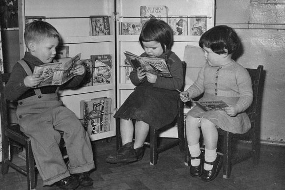 Children At Earlsheaton Nursery School Dewsbury 1950s