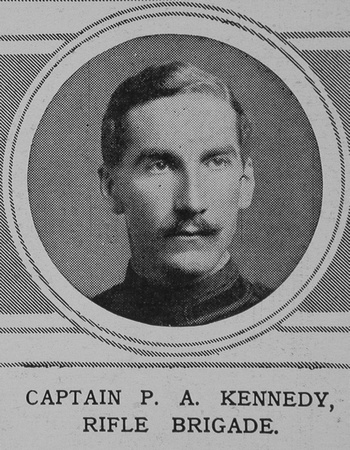 Kennedy P A Captain Rifle Brigade The Illustrated London News 29th May 1915