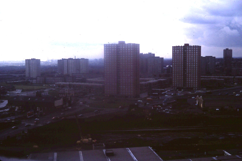 View From Chemistry Tower University Of Salford 1980