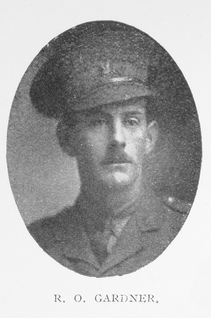 UK Photo And Social History Archive: Portraits &emdash; Gardner R O Captain 3rd Monmouthshire Regiment
