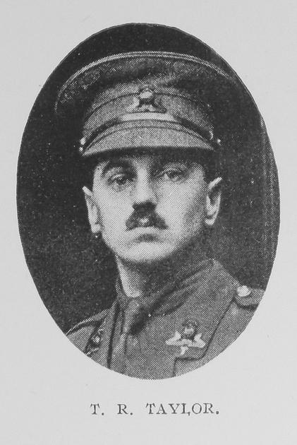 UK Photo And Social History Archive: Portraits &emdash; Taylor T R Lt Lancashire Fusiliers