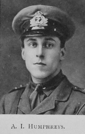 UK Photo And Social History Archive: Portraits &emdash; Humphreys A I Sub Lt Royal Naval Volunteer Reserve