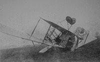 Allen T M Lt Aust Flying Corps  Crashed Plane WW1 Photos Collection